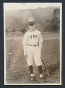 1919 Black Sox Ray Cannon Attorney For White Sox Vintage Baseball Photo