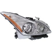 Headlight For 2008-2010 Infiniti G37 Sport Journey Models Right Hid With Bulb