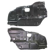 Left And Right Side Engine Splash Shield For 2002-2006 Toyota Camry Set Of 2