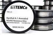 Temco Kanthal A1 Wire Resistance Resistor Gauge Awg A-1