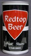 1960's Redtop Beer Pull Tab Can - 3 Cities - Empty