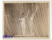 Gilbert Roland Busty Leggy Babe Vintage Photo Ther Big Circus