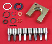 6.0l Powerstroke Performance Injector Nozzle Kit - 30 Over / 70 + Hp