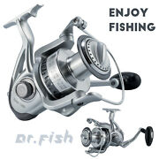 Dr.fish Super Large Saltwater Spinning Reel 11000 10bb Offshore Fishing Tuna