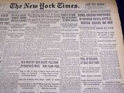 1938 March 7 New York Times - Rebel Cruiser Torpedoed In Spanish Naval - Nt 2848