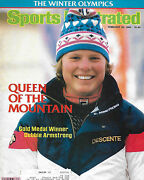 Sports Illustrated - Winter Olympicsand039 Debbie Armstrong From February 20 1984