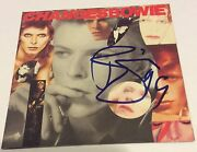 David Bowie Signed Changes Cd Nyc November 1999 Nbc Studio Conan Oand039brien Show