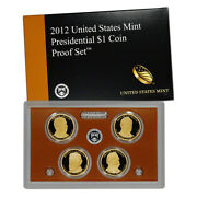 2012 Us Mint Presidential 1 Coin Proof Set