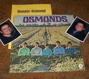Donny Osmond Signed Album And Photos Hot And Collectible