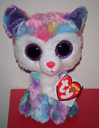 Ty Beanie Boos - Izabella The Husky Dog 6 Claire's Store Exclusive Mwmt