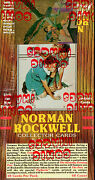 Factory Case-1993 Comic Images Norman Rockwell Series 1 Cards Case 12-rare