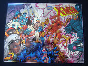 X-men Chrome Collectible Classic Cover Marvel Comics Proof Prototype 1 Of 5 Made