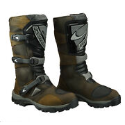Forma Adventure Leather Touring Waterproof Motorcycle Boots Brown Ride Best Buy
