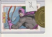 Iron Man - 1st One - Incentive Color Sketch Card By Bob Layton - Whiplash