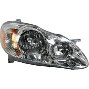 Headlight Headlamp Passenger Side Right Rh New For 05-08 Toyota Corolla Ce And Le