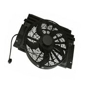 Auxiliary Fan Assembly With Shroud Behr For Bmw E53 E70 X5 3.0i 4.4i 4.6is 4.8is