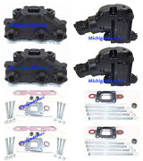 Mercruiser 4.3l Center-rise Dry Joint Exhaust Manifold Package 2002-current