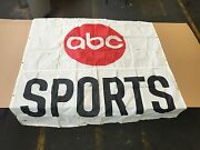 Abc Wide World Of Sports Banner 75 X 75 Indy 500 Iroc Race 1974