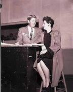 Rudy Vallee Ruth Hussey Nbc 35mm Slide Transparency 1