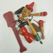 Fischer Price Vintage Pinocchio Marionette, Needs To Be Put Back Together