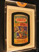 1986 Topps Wacky Packages Album Stickers 69 Stinkertoy