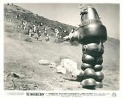 Invisible Boy Original Rare Lobby Card Robby The Robot Faces Troops With Guns