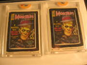 1980 Topps Wacky Packages Proof Card And Acetate Set 226
