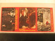 1976 Topps Shock Theater 3 Card Uncut Strip 02