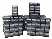 New Connectable Parts Storage Units With Visible Plastic Drawer Boxes Many Uses