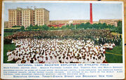 1910 National Cash Register Ncr Advertising Postcard-employees On Athletic Field