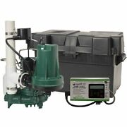 Zoeller Propack53 Spin - 1/3 Hp Combination Primary And Backup Sump Pump System