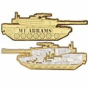 M1 Abrams Army Military Tank 3 Medallion Challenge Coin