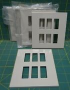 Lot Of 5 Vimar 6-hole Ivory/cream Colored Switch Cover Plate Marine Boat Yacht