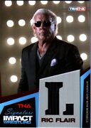 Tna Ric Flair L 2011 Signature Impact Red Event Worn Armani Suit Sn 2 Of 5