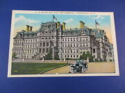 U.s State And War Departments Washington D.c Colorful Postcard Unused Pc15