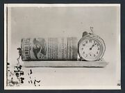 1910 Bomb Used In Mcnamara Case Los Angeles Times Bombing Vintage Photo
