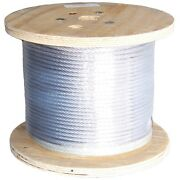 5/16 Inch Ehs Guy Wire Strand Rohn Tower Down Guy 500' Ft Foot R-5/16ehs500