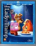Lady And The Tramp Blu-ray/dvd, 2012, 2-disc Set, Diamond Edition Sealed