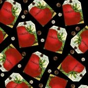 And039sewing Seeds Iiand039 Tomato Pin Cushion Tags Fabric - Wecker Frisch