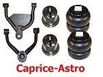 L Cv9196 1991-1996 Chev Impala Caprice Upper/lower Control Arms/bags/mount