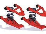 L X2-gm6387c 1963-1987 C10 Upper/lower Control Arms 3xtreme W/coils