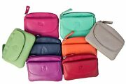 Prime Hide Soft Leather Small Coin Purse Pouch Great Choice Colourful Purses