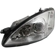 Headlight For 2007-2013 Mercedes Benz S550 S600 Driver Side W/ Bulb