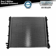Radiator Assembly Plastic Tanks And Aluminum Core Direct Fit For Cadillac Srx Sts