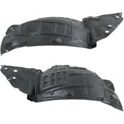Splash Shield For 2011-2013 Infiniti M37 Front Lh And Rh Front Section Set Of 2