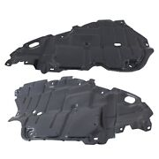 Left And Right Side Engine Splash Shield For 2007-2011 Toyota Camry Set Of 2