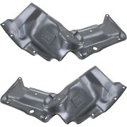 Lh And Rh Engine Splash Shield For 2003-2008 Toyota Corolla For Mt Models Set Of 2