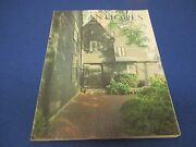 The Magazine Antiques, March 1984, House Of The Seven Gables Photo, C. Norton