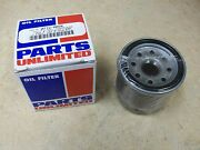 Parts Unlimited Oil Filter For 2007-2008 Yamaha Yxr450 Yxr 450 Rhino Side X Side