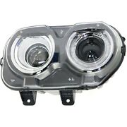 Headlight For 2015 2016 2017 2018 Dodge Challenger Right With Bulb